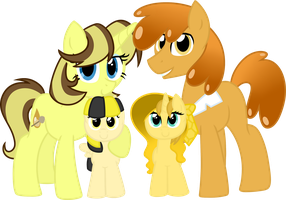 The Bee Family by FrozenStar37615