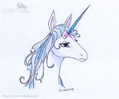 The Last Unicorn by Strecno