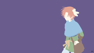 Yoon (Akatsuki no Yona) Minimalist Wallpaper by greenmapple17