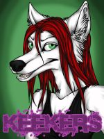 Keekers - Badge by kcravenyote