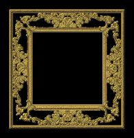 Frame Lacey Gold by Bnspyrd