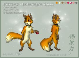 Ruki halfanthro-sheet 2007 by RukiFox