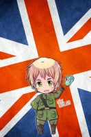 Hetalia iWallpapers - England by Dreamweaver38
