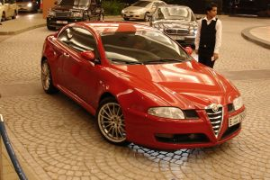 Alfa Romeo in Dubai by shani248