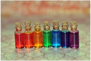 Rainbow love potion by Serend1pity