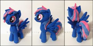 Plushie: Krystal Skye - My Little Pony: FiM by Serenity-Sama