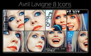 Avril 8ICONS by ll-black-star-ll