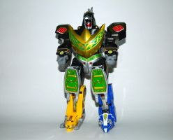 Dragonzord Fighting Mode by LinearRanger
