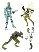 Ben 10 Super Soldiers 3 by kjmarch