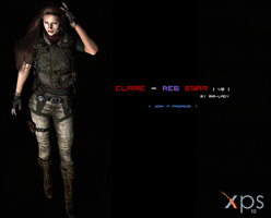 Claire - RE6 BSAA Concept - WIP - by little--miss--mia