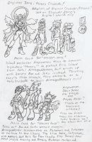 Digimon Zone: Heroes Crusade! Rough Outline by BlueIke