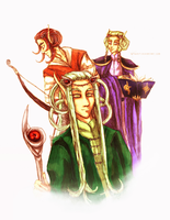 Elven Representatives by neshirys
