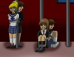 4 Students Held Prisoners by RedPhoenix15