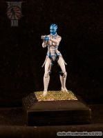 Liara T'Soni resin figure by Michael-XIII