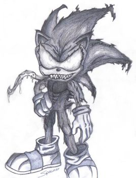 Sonic The Venom Symbiote by spawner1AndOnly