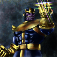 Thanos by leseraphin