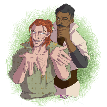 Sh*tlord and Dorian by The-Diet-Elf