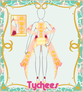 Outfit Adoptable (Auction) #14 (CLOSE!!!) by Tychees