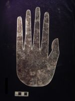 Hopewell Mica Hand Replica Made by Jack Corbo by JCorbo