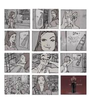 tv commercial storyboard_1 by makulayangbuhay