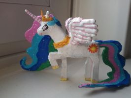 Princess Celestia in lego by balthazar147