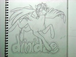 dinidea OC badge rough sketch 4 Edward by Bee-chan