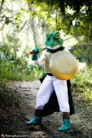 Frog or Glen from Chrono Trigger by negativedreamer