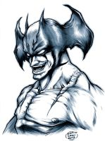 Devilman sketch by EnricoGalli