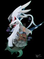 Type: Null and Silvally by Ilona-the-Sinister