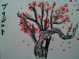 Plum Blossom Painting by OikikiO