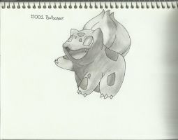 #001 Bulbasaur by xXHeartless-RosesXx