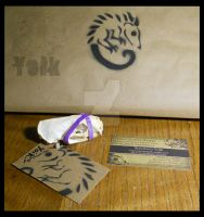 Packaging Weasel Skull by Shamans-Yoik