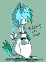 .:G:. Blizzard was here by Omiza