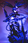 INSANE Black Rock Shooter by Solastyre