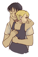 bb royai hug by uhglypug