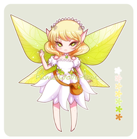 :Offer to Adopt: Garden Fairy 01 (CLOSED) by himawari-tan