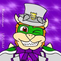 Bowser hat super mario Odyssey by HuswserStar