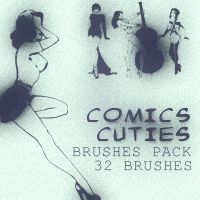 Comix Cuties_brushes pack by solenero73