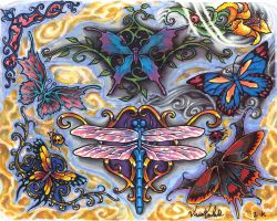 butterfly tattoo page by cannibol
