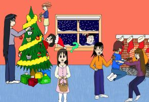 Have an Azu Christmas by Veester