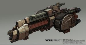 Colony Construction Ship Final by IronStylus