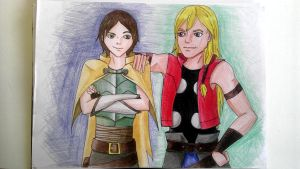 Tales of Asgard - Thor and Loki by awesome-Kathi