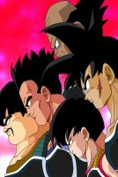 Bardock's Team_Colab by carapau