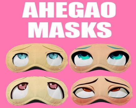 Ahegao Masks for sell by DearEditorr