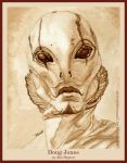 Doug Jones as Abe Sapien by strryeyedreamr27