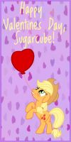 MLP Valentine Applejack 2 by JiMMY--CHaN