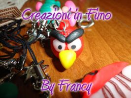 Angry Birds fimo 24 by FrancescaBrt
