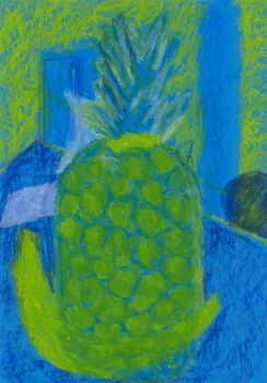 Pineapple Painting by R4VI4TOR