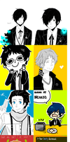 Persona artdump by Gracejo413