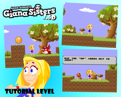 Giana 2.5D: Tutorial Level WIP by Piggybank12